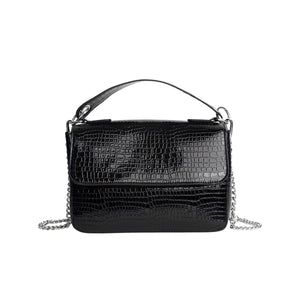 HVISK Dally Croco Bag, black