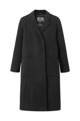BRIXTOL Deb wool Coat, dark grey