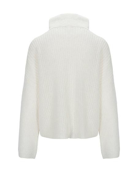 UNTOLD STORIES Florie zipped Jacket, off white