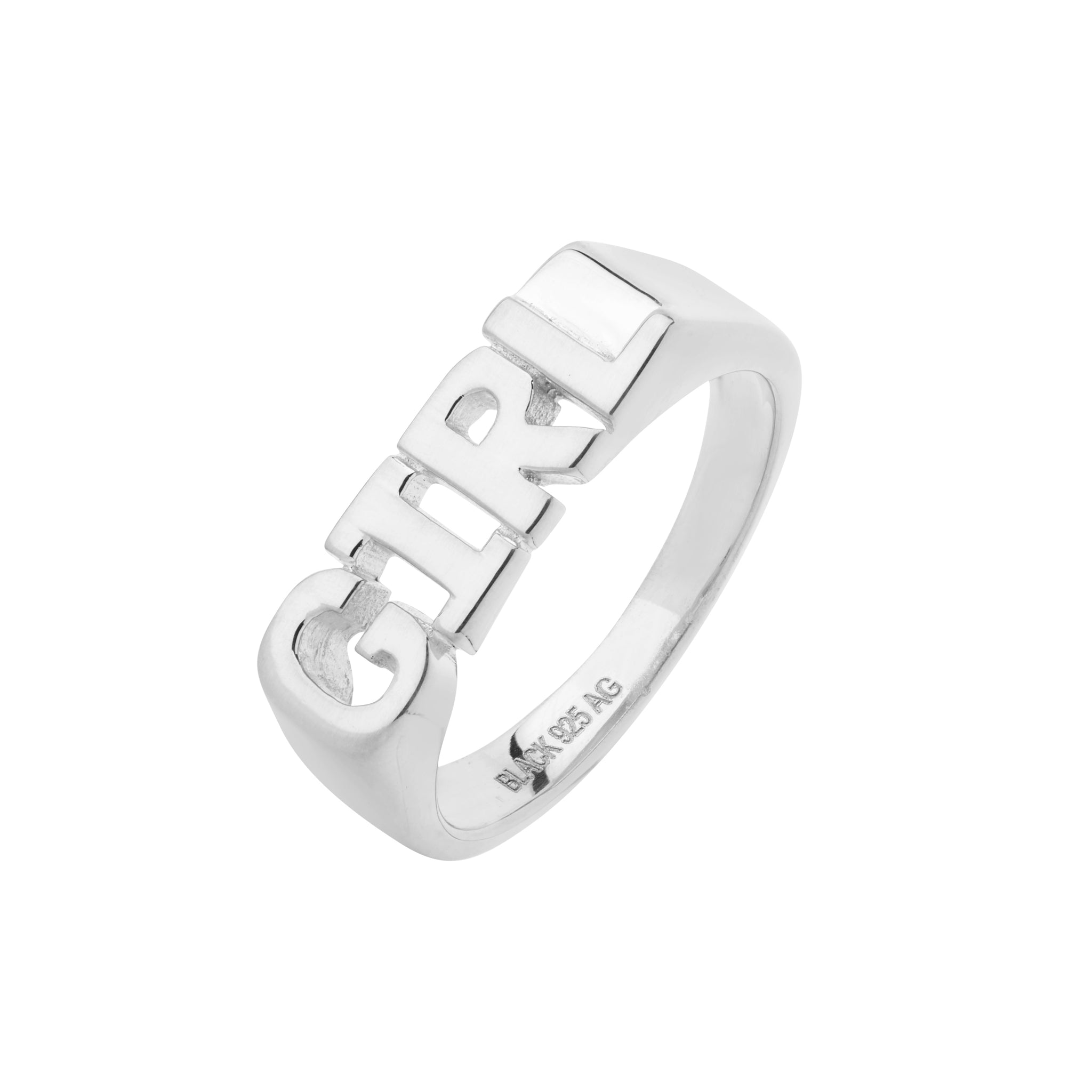 MARIA BLACK Girl Ring, silver