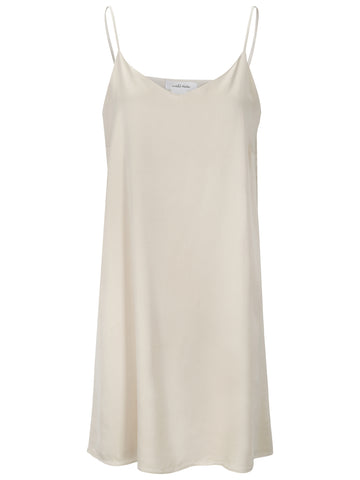 UNTOLD STORIES Silk Dress, beige