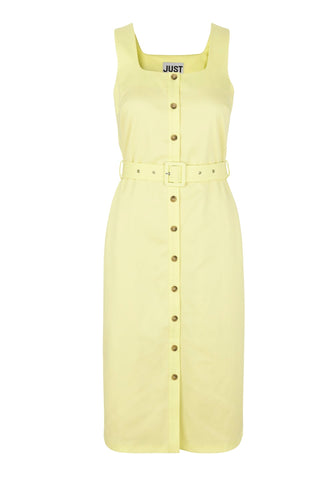 JUST FEMALE Maxwell Dress, yellow