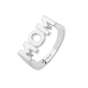 MARIA BLACK Mom Ring, silver