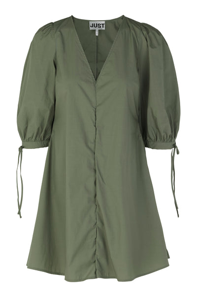JUST FEMALE Nanita Dress, olive