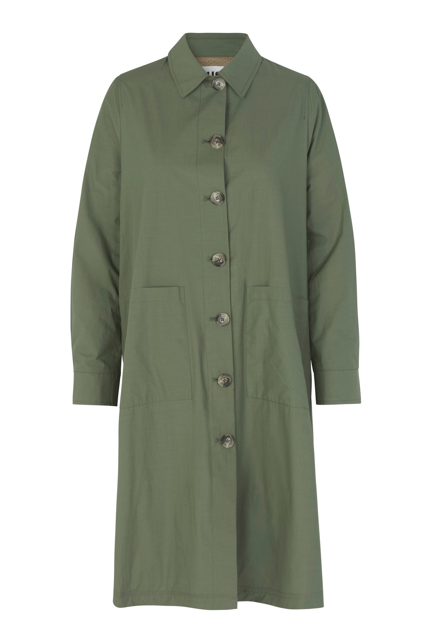 JUST FEMALE Nanita Trenchcoat, olive