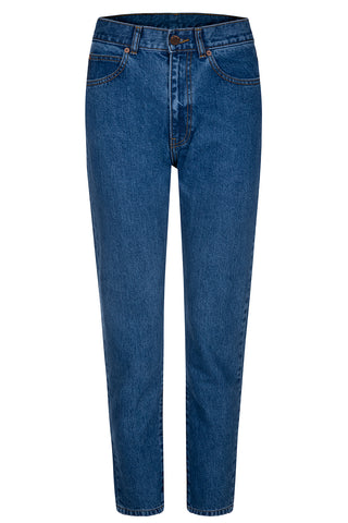 DR DENIM Mom Jeans, mid retro