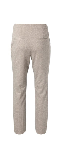 YAYA Stretch Trousers with fishbone pattern, beige