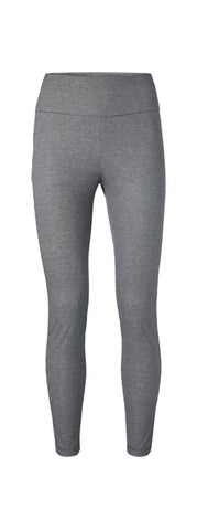 YAYA Stretch leggings with checks, grey