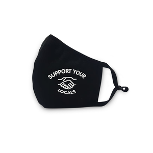 UNFAIR ATHLETICS Support your Locals Mask