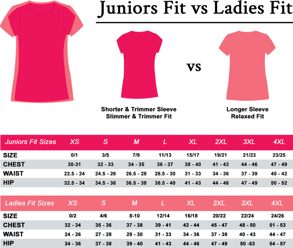 Unveiled Wife T-Shirt Sizing And Fit Guid