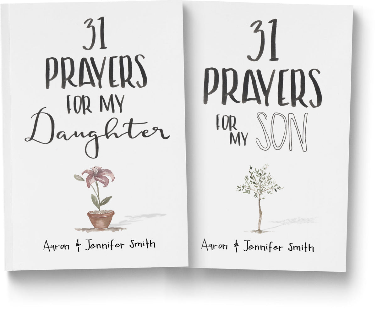 31 Prayers For My Son & Daughter - 2 book Bundle - 23% OFF
