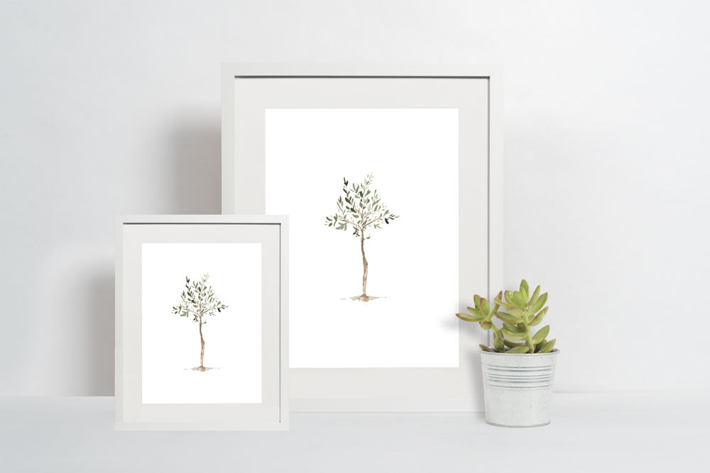 Olive Tree Print - A Simple And Beautiful Reminder To Pray For Your Son - Prints - Marriage After God