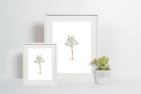 Olive Tree Print - A Simple And Beautiful Reminder To Pray For Your Son