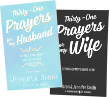 Load image into Gallery viewer, Thirty-One Prayers For My Marriage 2 Book Bundle - 23% OFF - Promotional Bundle - Marriage After God