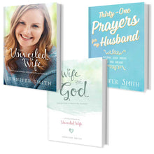 Load image into Gallery viewer, 3 Book Bundle For Wives - 32% OFF - Promotional Bundle - Marriage After God