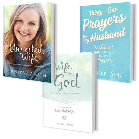 3 Book Bundle For Wives - 32% OFF - Promotional Bundle - Marriage After God