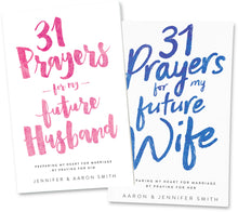 Load image into Gallery viewer, 31 Prayers For My Future Marriage 2 book Bundle
