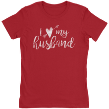 Load image into Gallery viewer, I Love My Husband Arrow Through Heart - T-Shirt - Marriage After God