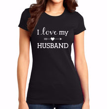 Load image into Gallery viewer, I Love My Husband Heart Arrow Shirt - T-Shirt - Marriage After God