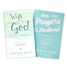 Load image into Gallery viewer, The Wife Bundle - Wife After God + Thirty-One Prayers For My Husband - Promotional Bundle - Marriage After God