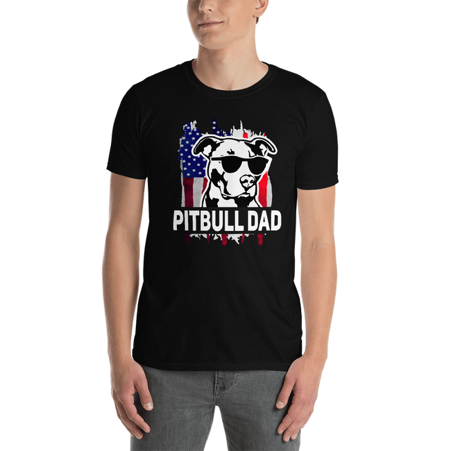 Pitbull Dad T-Shirt