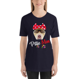 Pittie Mom Colorized T-Shirt