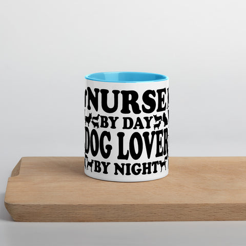 Nurse By Day Dog Lover by Night Mug