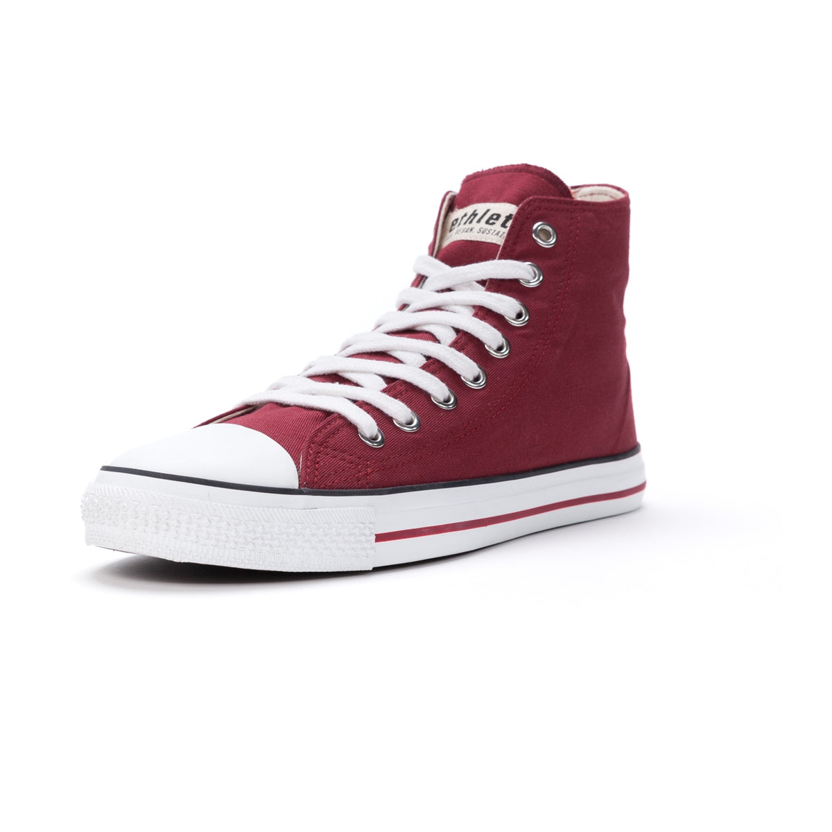 Fair Trainer White Cap Hi Cut True Blood | ETHLETICS