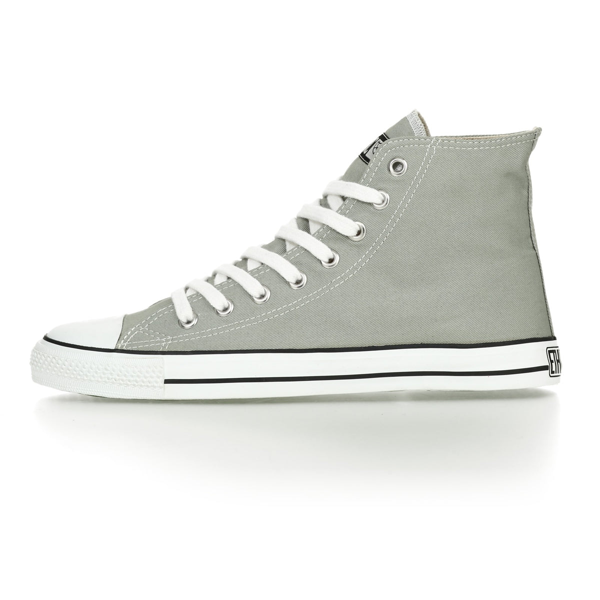 Fair Trainer White Cap Hi Cut Urban Grey | Just White