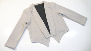 New Sewing Instructions for N.7 - Knit mini Blazer