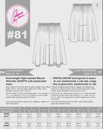 Load and play video in Gallery viewer, Digital Sewing Pattern N.81 - Woven Skirt-like SHORTS