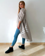 Load image into Gallery viewer, Digital Sewing Pattern N.80 - Woven loose silhouette TUNIC with puffed sleeve