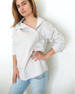 Load image into Gallery viewer, Digital Sewing Pattern N.32 - Shirt with Asymmetric Collar