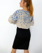 Load image into Gallery viewer, easy to sew blouse