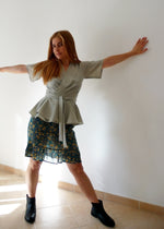 Load image into Gallery viewer, Digital Sewing Pattern N.78 - Woven Wrap Blouse or Dress