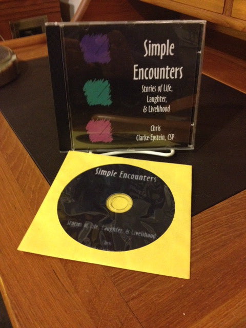 Simple Encounters: Stories of Life, Laughter, & Livelihood Audio Version (Audio CD)