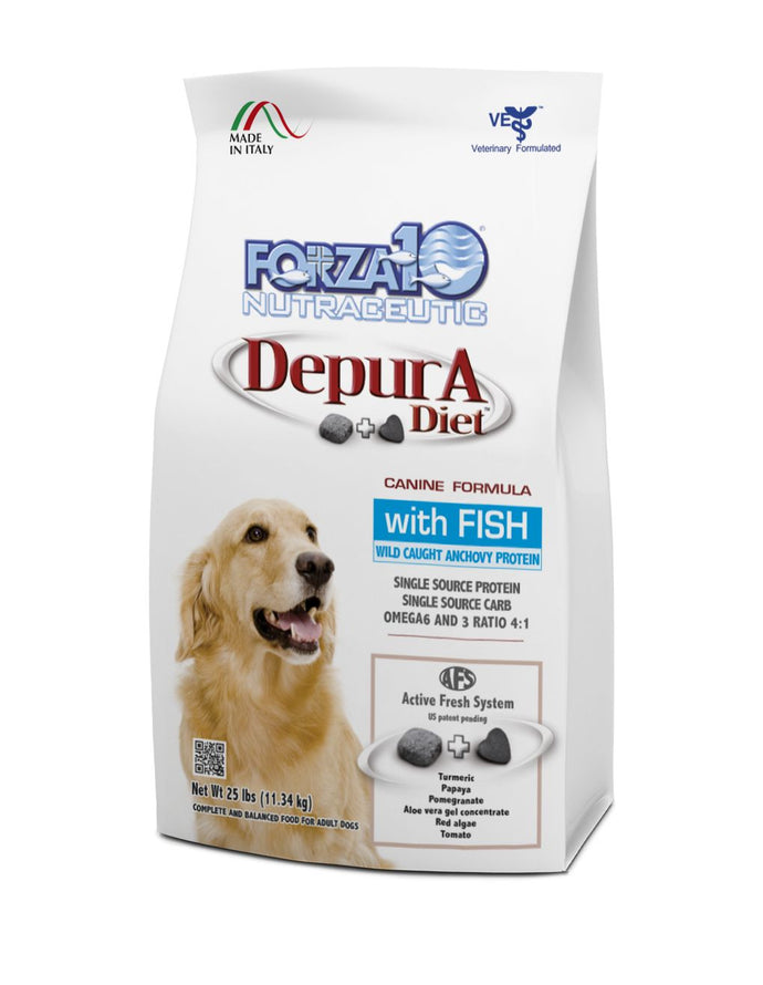 Forza10 Active Dry Dog Depura Fish (maintenance, daily protection)