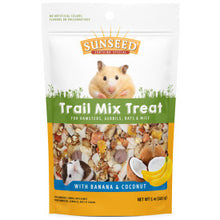 Load image into Gallery viewer, Sunseed Trail Mix Treat Bananas & Coconut - Hamsters, Rats & Mice