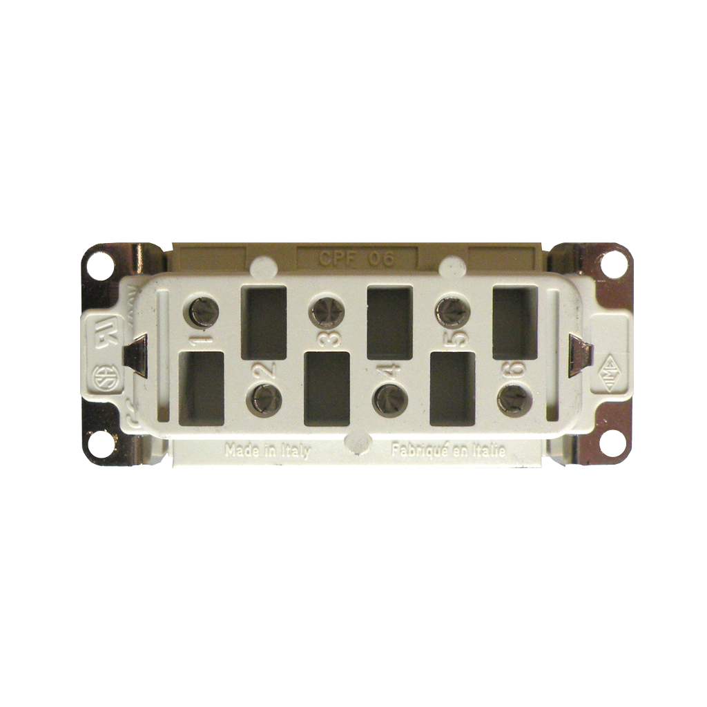 6 Pole Female Connector