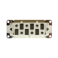 6 Pole Female Connector P/N: 83-0013