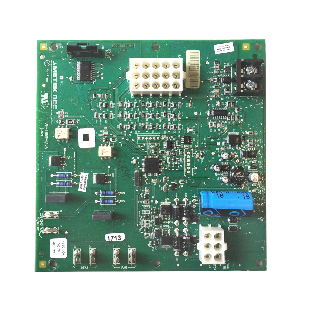 AutoFry Control Board (Current Controls) P/N: 95-0007