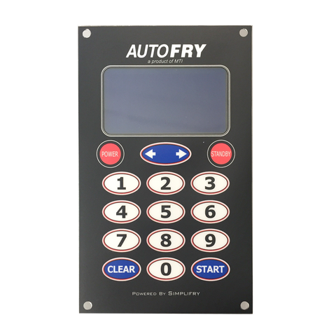 AutoFry Display Board (Current Controls) P/N: 95-0008