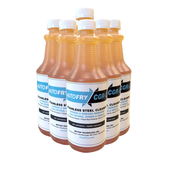 Carbon Grease Remover CGR - Liquid (Case of 6) P/N: 21-0011 x6