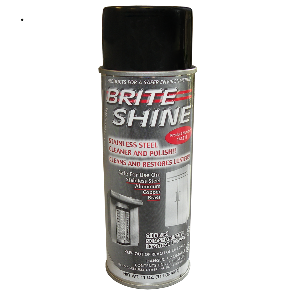 Brite Shine Stainless Steel Cleaner and Polish Spray