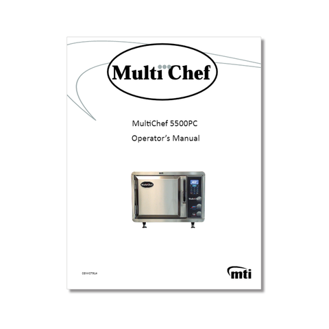 MultiChef 5500 Owners Manual