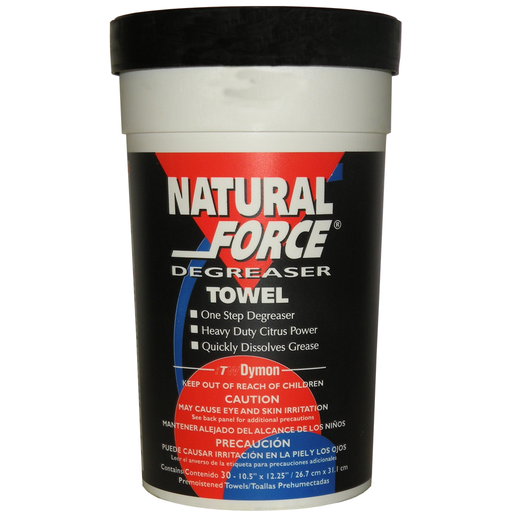 Natforce Degreaser Towels (1 Tub of 30 Wipes)