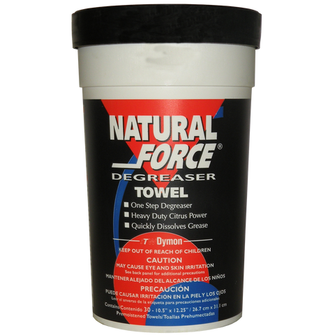 Natforce Degreaser Towels (1 Tub of 30 Wipes) P/N: 21-0004