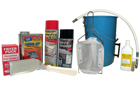 AutoFry Oil Filtering/Cleaning Bundle & Save Kit P/N: 69-0048