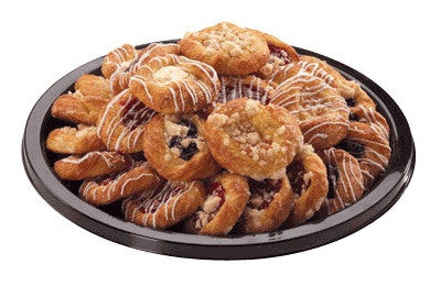 assorted danish platter