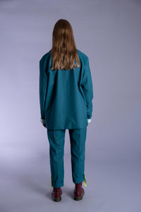 Aralia Teal Jacket